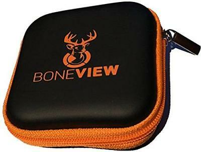 BoneView Weather-Resistant Storage Case for Trail Camera Card Reader and SD