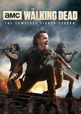 NEW The Walking Dead Season 8 Eight 8th Free USA Shipping  (4 disc DVD)