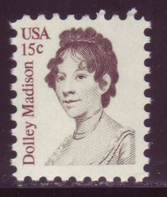 #1822 Dolley Madison. Wholesale Lot Of (10) Mint Singles F-Vf Nh!