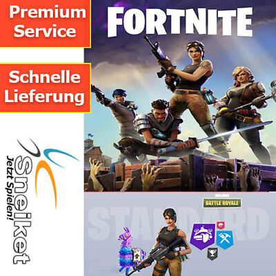 Fortnite PS4 / PC Save The World Standard Edition KEY Game Spiele Download Code