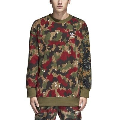 bdb677632 CY7863  MENS ADIDAS Originals Pharrell Williams Hu Hikings Camo Crew ...