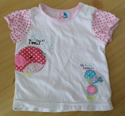 baby girl short sleeved top 6-9 months