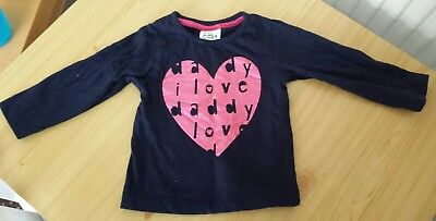 baby girl long sleeved top 6-9 months