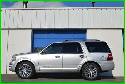 Ford Expedition Platinum Repairable Rebuildable Salvage Runs Great Project Builder Fixer Easy Fix Save