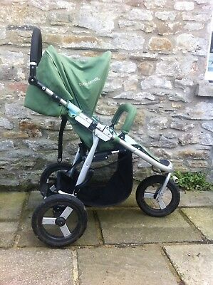 Bumbleride Indie all terrain stroller seagrass (green turquoise)