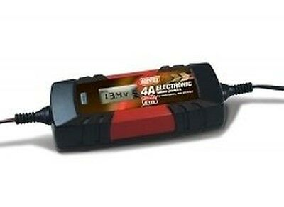 SMART 12v 6v 4A INTELLIGENT ELECTRONIC BATTERY CHARGER use as wet gel leisure