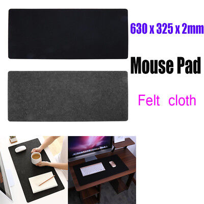 Large Felts Gaming Mouse Pad Office Desk Laptop Keyboard Mat Anti-slip Mousepad