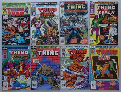 Marvel Two-In-One comic #9,35,60,76,89,91,93,94 (1975-82) Most VFN (phil-comics)