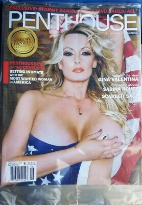 STORMY DANIELS Bares all Penthouse magazine May June 2018 NEW sealed