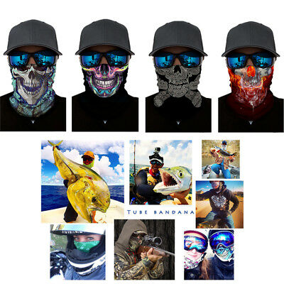 Face Mask Riding Mask Practical Skull Colour Outdoor Riding Windbreak
