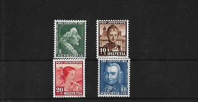 Switzerland Sgj96/9, 1941 Pro Juventute Mnh Set