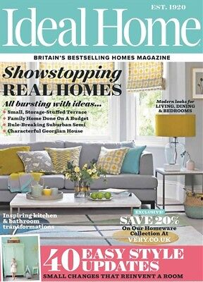 tIDEAL HOME MAGAZINE APRIL 2018 ~ NEW ~
