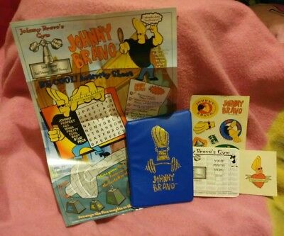 Johnny Bravo collectible set complete Burger King