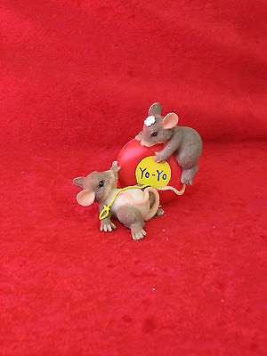 """Charming Tails             """"even The Yps & Downs Are Fun""""    2 Mice And A Yo-Yo"""