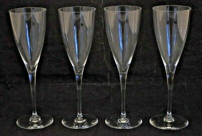4 Baccarat Crystal Dom Perignon Port Wine Glasses