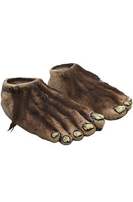 Brand New Big Foot sasquatch Hairy Big Feet Costume Accessory