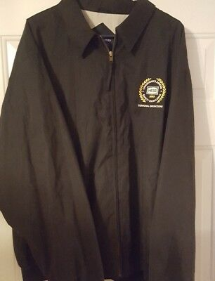 Vintage HESS Gas Station Jacket ~2xl ~ NICE!~ HTF ~ RARE! Safety Excellence 2003