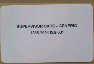 Supervisor Card All Payment Terminals Worldpay Payment Sense Payzone Ingenico