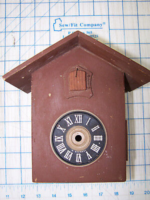 Cuckoo Clock Casing House Cuckoo Clock Housing, Parts Made In Germany
