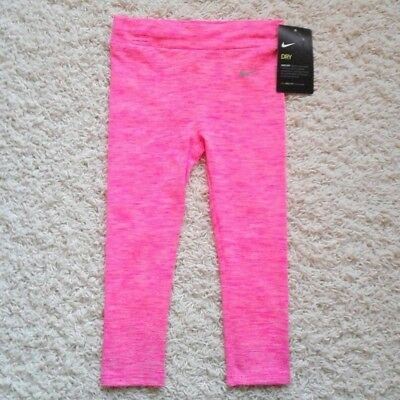 NWT $ 30.00 Nike Toddler baby girl 2T Dri-FIT Sport Essentials leggings pink