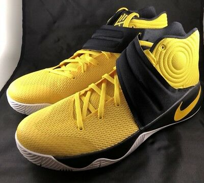 huge discount a1adc 7e99d Nike Kyrie Irving 2 Australia Tour Basketball Shoe Sz 12 Black Yellow  819583-701