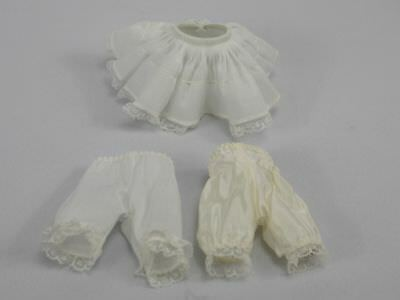 """Lot Of Vintage Madame Alexander- 8"""" Doll Clothes slip & Bloomers"""