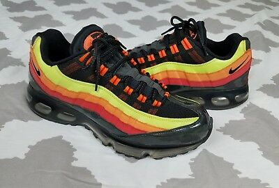 4af252fab002 Nike Air Max 95 360 Multicolor Mens sz 12 Running Shoes Rainbow 2007  Sneakers