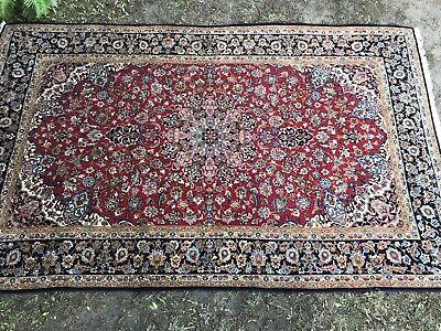 Large Vintage Persian Floor RugHand Knotted~Pure Wool~Fabulous Colours & Design
