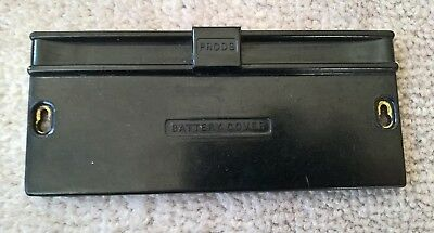 """Vintage Universal Avometer """"model 40"""" Battery Compartment Cover"""