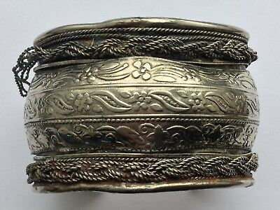 Very Old Silver Bangle--Detector Find In 1988--