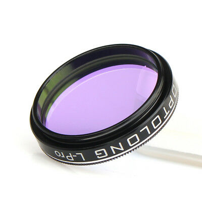 """OPTOLONG 1.25"""" L-Pro Filter Light Pollution Suppression Fit for astrophotography"""