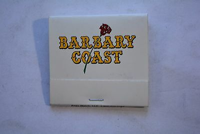 BARBARY COAST CASINO MATCHBOOK Scarce White Red Rose Covers Near Mint