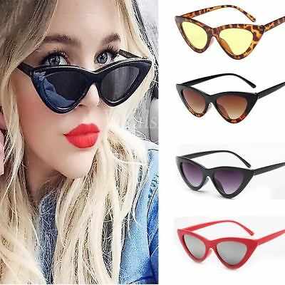Women Vintage Sunglasses Cat Eye Triangle Beach Outdoor Eyewear Glasses Fashion