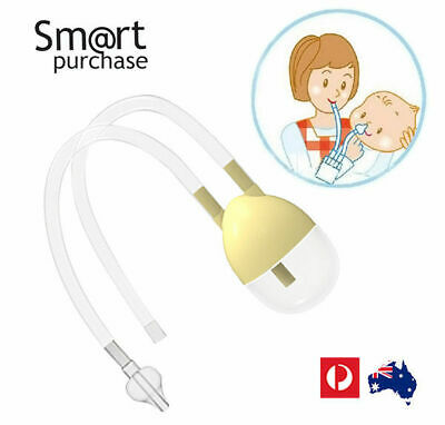 New Born Baby Safety Nose Cleaner Vacuum Suction Nasal Aspirator Flu
