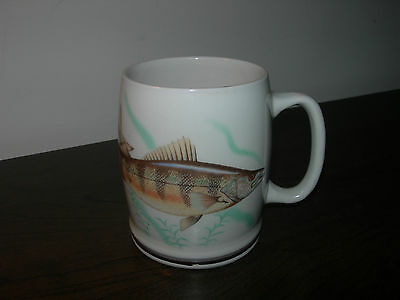 Gray's Pottery Fisherman's Prayer Ceramic Cup Mug Made In Stoke-On-Trent England