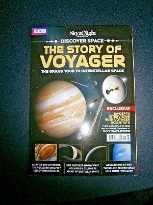 BBC Discover Space The Story Of Voyager Bookazine