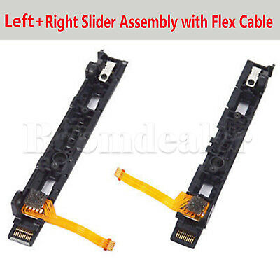 L/R Slider Assembly with Flex Cable For Nintendo Switch Joy-Con Controller #H2U