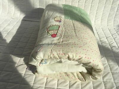 Door mouse, Prickles & Whiskas Cot Bed Duvet, light weight great for the summer!