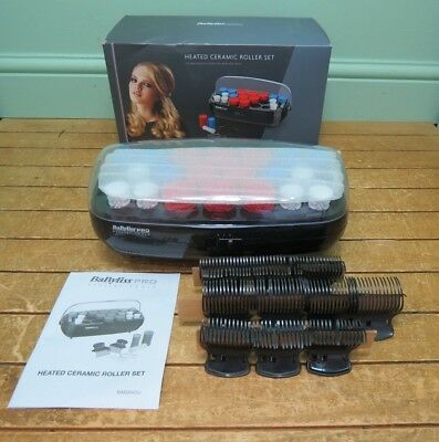 New Babyliss Pro Stylist Heated Ceramic Roller Set