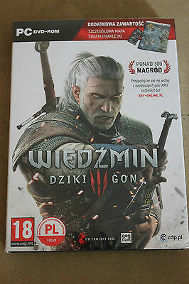 The Witcher 3 Wild Hunt  Edition PC Game Brand New  WIEDŹMIN 3 DZIKI GON RARE