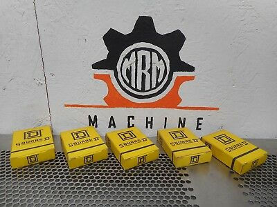 Square D DD112 Overload Relay Thermal Unit New In Box (Lot of 5)