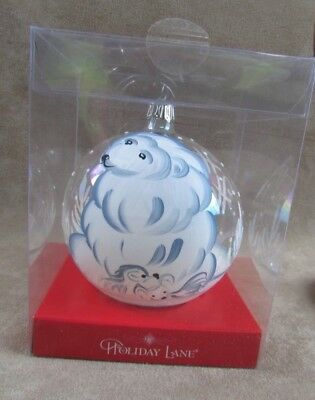 Polar Bear Ornament Macy's Department store 2006 Hand Painted NOS Mother Cubs