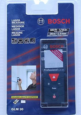 Bosch GLM 30 Laser Measure - Up to 100ft Range