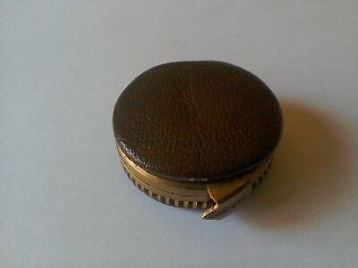 Brevete Miniature Rare French Leather Sovereign Purse./Penny ,Coins .Stamps.