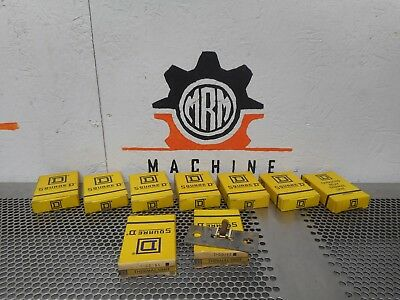 Square D DD185 Overload Thermal Relay Unit New (Lot of 9)