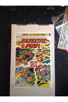 2 Bronze Age Fantastic Four Comics #182/183 Both Fine Job lot Bundle