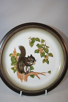 Unusual Denby Side plate with Squirrel Design