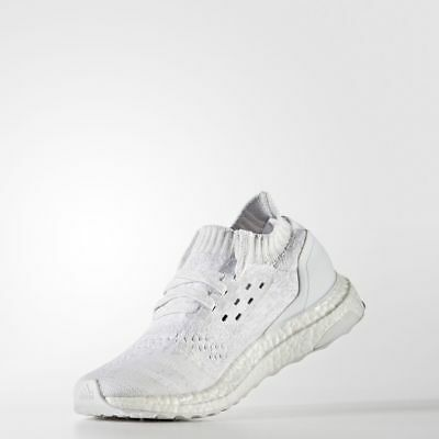 12935bdcddae5 ADIDAS UltraBoost Uncaged J White Running Shoes Junior Boys Girls Sneakers  NEW