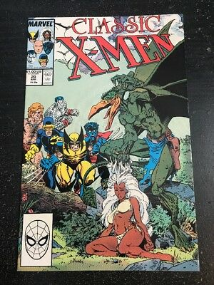 Classic X-men#20 Incredible Condition 9.0(1988) Art Adams Cover, Byrne Art!!