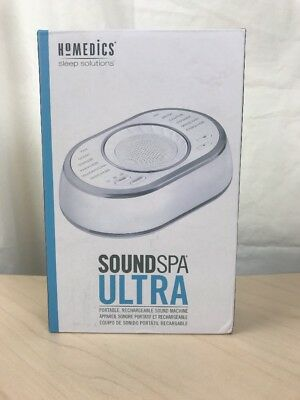 Homedics Sound Spa Ultra - Portable, Rechargeable Sound Machine.